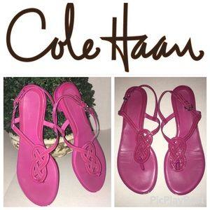 Cole Haan Purple/pink sandals size 10